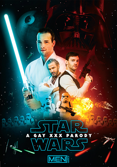 star wars xxx, a gay xxx parody, gay star wars parody, men.com, paddy o'brian, jessy ares, luke adams, dennis west, sean cody, hector de silva, stormtrooper sex, darth vader sex, han solo sex, luke skywalker sex, obi wan sex