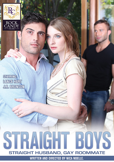 Straight Boys Straight Husband, Gay Roommate Cover Front