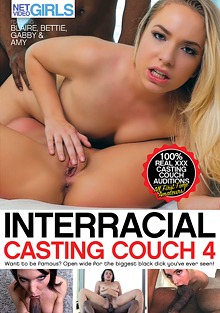 Interracial Casting Couch 4 cover