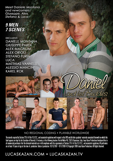 Daniel and His Buddies Cover Back