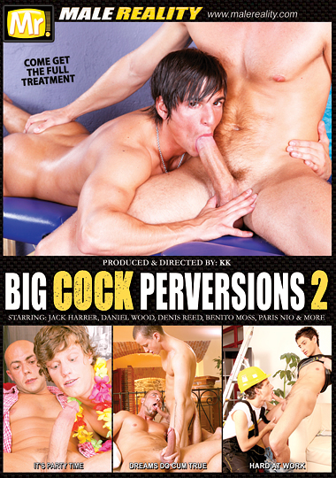 Big Cock Perversions 2 Cover Front