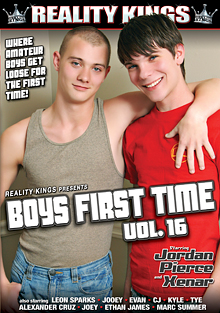 Boys First Time 16 cover
