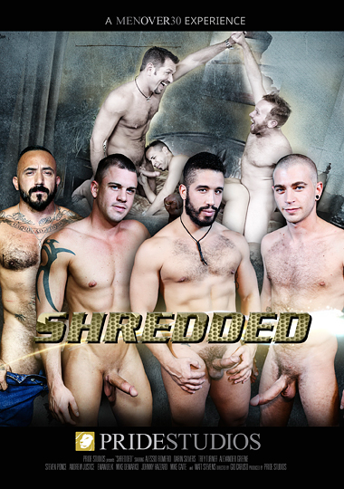 Shredded (Pride) Cover Front