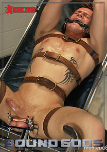 Bound Gods: Dr Parker London And His Unwilling Patient cover