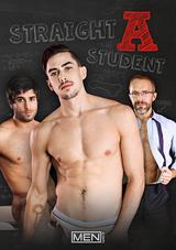 straight a student, men, gay, porn, jack hunter, diego sans, school, desks, 69