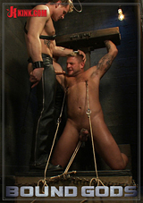 bound gods, bondage revenge, kink men, fetish, colby jansen, gay, porn,
