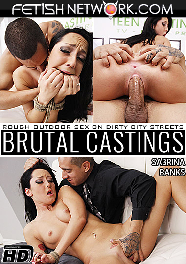 Brutal Castings: Sabrina Banks cover
