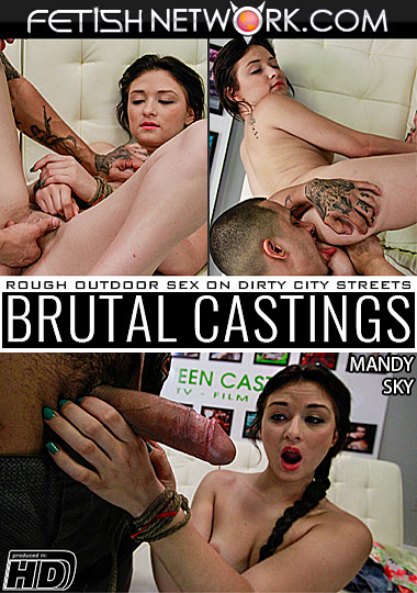 Brutal Castings: Mandy Sky cover