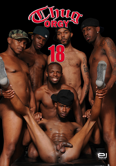Only reserve, muscular thug orgy