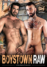 boystown raw, gay, porn, skyn men, rikk york, billy santoro, bear, big dick, muscles