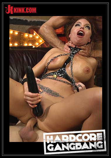 Hardcore Gangbang: Britney Amber Gets Jam Packed By Horny Filthy Circus Performers cover