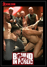 Bound In Public: Happy Halloween - Halloween Whore Gang Fucked By The Horny Crowd