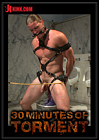 30 Minutes Of Torment: Straight Hunk Kip Johnson Endures Three Intense Challenges Before He's Ordered To Blow His Load While Riding A Giant Cock