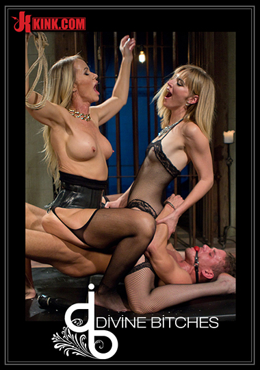 Divine Bitches: Stepmother And Daughter Dominating Duo cover