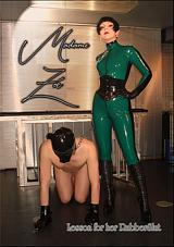 Lesson For Her Rubberslut