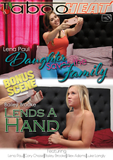 daughter saves the family, taboo heat, lena paul, taboo, porn, family, girl on girl, mother, daughter, threesome, threeway