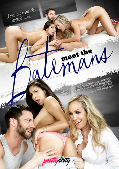 meet the batemans, pretty dirty, brandi love, seth gamble, nina north, anikka albrite, mick blue, porn, threeway, big dick