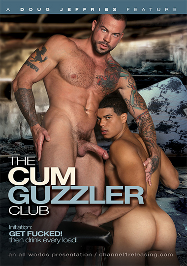 The Cum Guzzler Club Cover Front