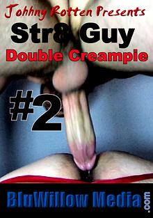 Str8 Guy Double Creampie 2 cover