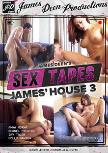 James Deen's Sex Tapes: James' House 3 cover