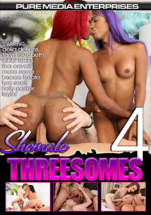 Shemale Threesomes 4 cover