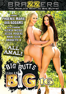 Big Butts Like It Big 16 cover