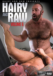 Hairy And Raw 6 cover