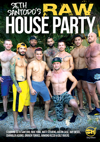 Seth Santoros Raw House Party Cover Front