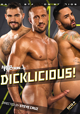 dicklicious, raging stallion, big dick, gay, porn, myles landon, bruno bernal