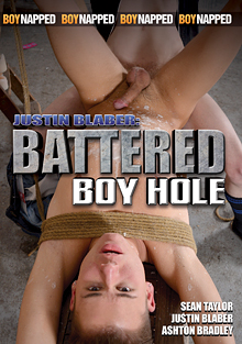 Boynapped 56: Justin Blaber: Battered Boy Hole cover