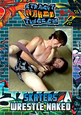 Skaters Wrestle Naked