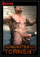 30 Minutes Of Torment: Straight Hunk Jimmy Bullet Pushes His Limits To The Max