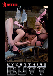 Everything Butt: Anal Action At It's Deepest And Hardest: Claire Adams And Lorelei Lee cover