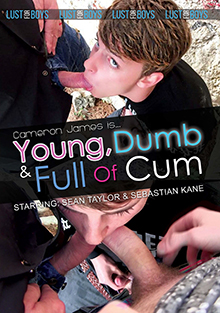Cameron James Is Young, Dumb And Full Of Cum cover