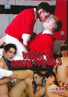 Rentboy's School Fuckers 3 cover