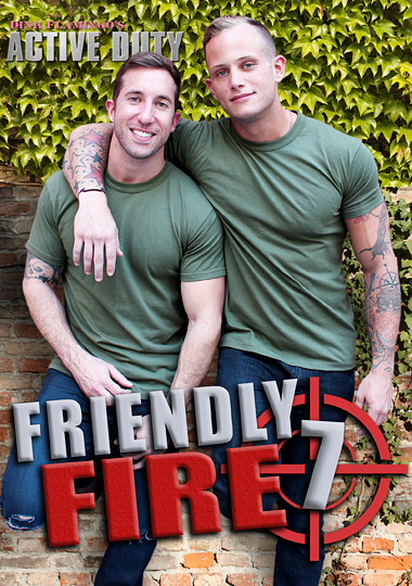Friendly Fire 7 cover