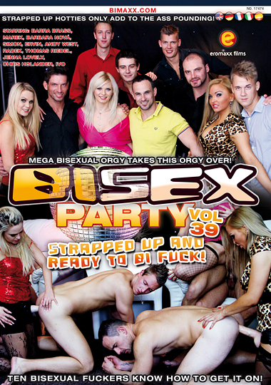 Bi Sex Party 39: Strapped Up And Ready To Bi Fuck cover