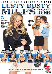 Lusty Busty MILFs On The Job cover