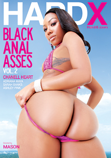 Black Anal Asses 2 cover