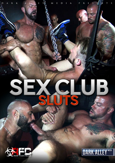 sex club sluts bareback dark alley media raw fuck club gay porn