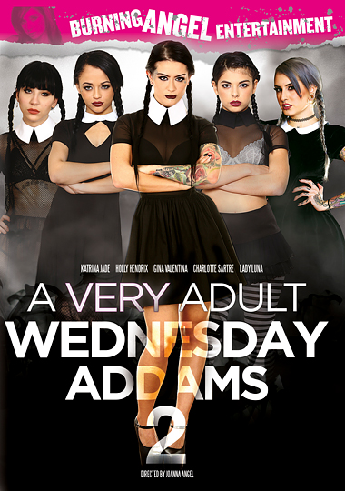 A Very Adult Wednesday Addams 2 cover