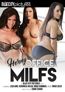 Horny Office MILFS cover