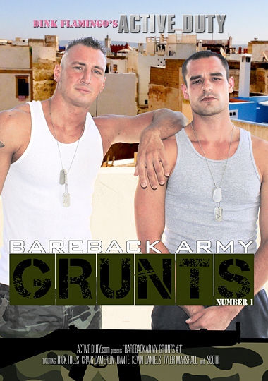 Bareback Army Grunts 01 Cover Front