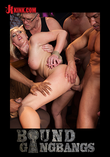 Bound Gangbangs: Blackmailed cover