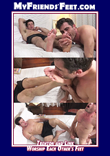 Trenton And Link Worship Each Other's Feet