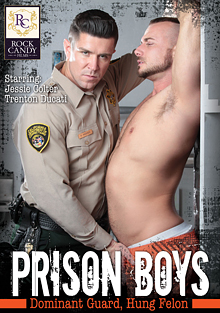 Prison Boys: Dominant Guard, Hung Felon cover