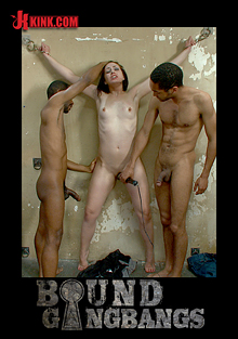 Bound Gangbangs: Hot Slut Pays Off Her Boyfriend's Debts With Her Body cover