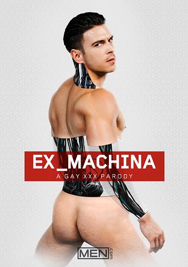 Ex-Machina A Gay XXX Parody Cover Front