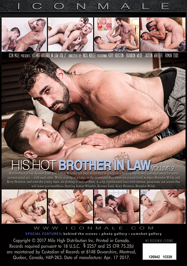 His Hot Brother In Law 2 Cover Front