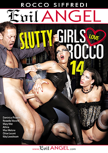 Slutty Girls Love Rocco 14 cover